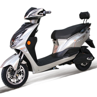 hydraulic suspension electric scooter for two passengers