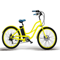 electric cruiser bicycle for lady